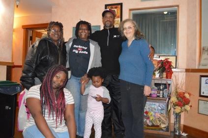 (back L-R) Kathy Joy Steve Sharon (front L-R) Emani Eden