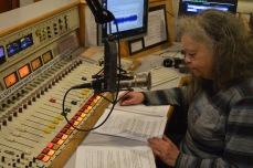Sharon at the controls