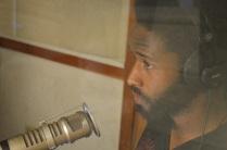 Junior Jackson on the mic