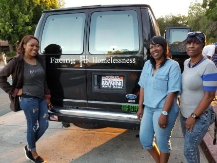 (L-R) Nichole_Angela_Rhonda The Facing Homelessness in Antioch crew