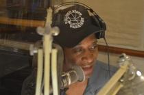 Stevie G on the mic