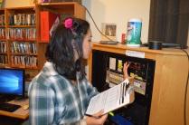 Mari Nakagawa taking meter readings