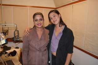 (L-R)Co-Founder Direct Action Everywhere Priya Sawhney and Host Mari Nakagawa