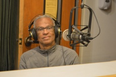 Long time KPFA volunteer Max Blanchet on the air