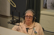 Long time KPFA volunteer Terry Paris on the air