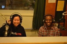 New KPFA Volunteers_Angela and Jason