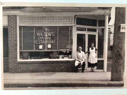 Grandma Wilson and Her husband Isaac