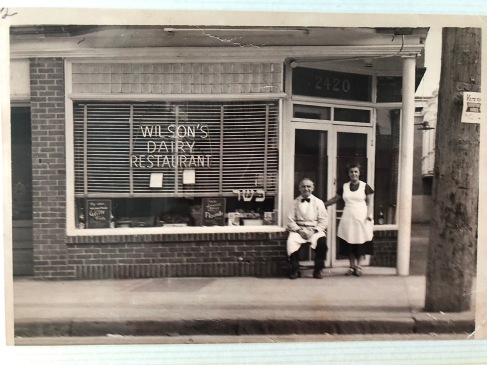 Grandma Wilson and Her husband Isaac