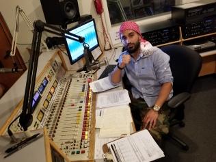 Host and Engineer Aria Moshirian