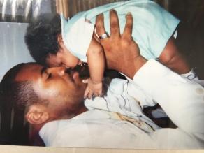 SHAQ AND DAD