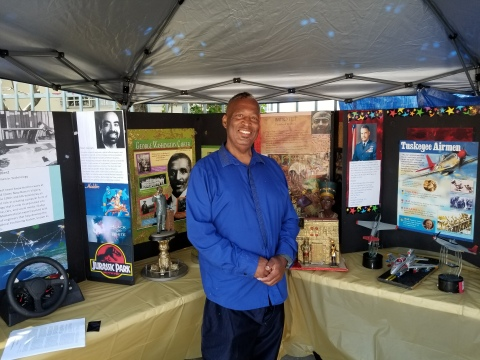 R.J. Reid Black Inventors exhibit