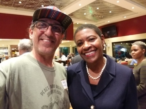 Franklin and District Attorney Dianna Becton