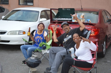 Franklin Autty G and Felicia Bridges kpfa tailgate