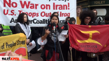 No War On Iran San Francisco Rally - Jan-2020