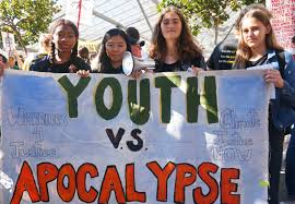 Youth vs Apocalypse protest